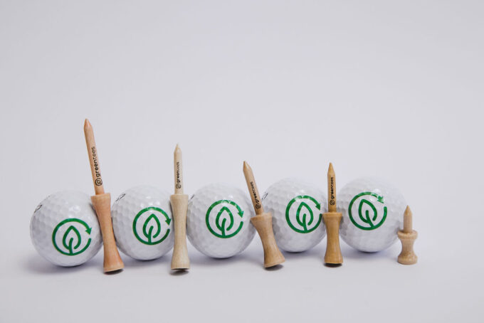 castle bamboo golf tees